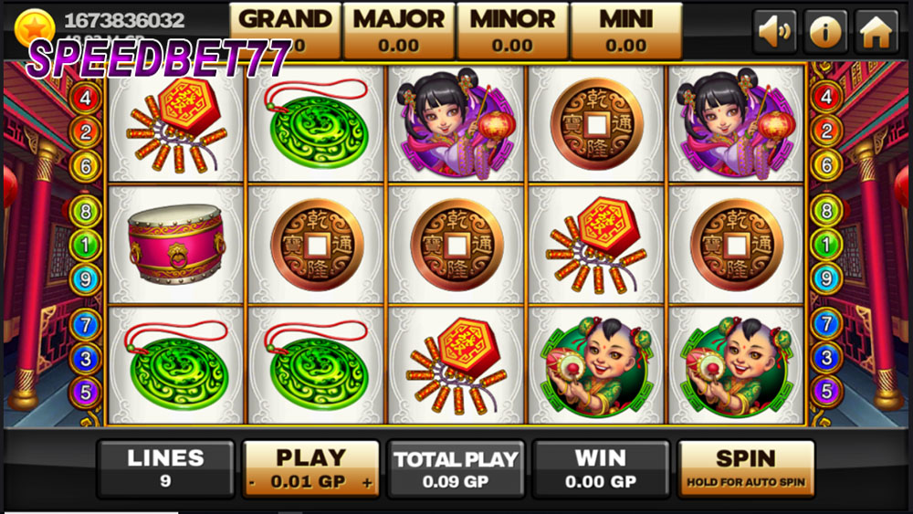 Game Lucky God Slot
